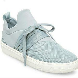 Steve Madden Lancer Lace Up Sneakers Blue 7.5